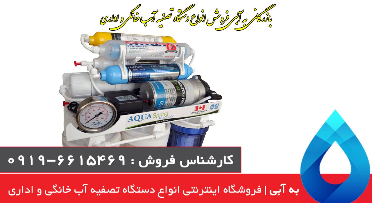 دستگاه تصفیه آب خانگی آکوآ اسپرینگ -RO-S157