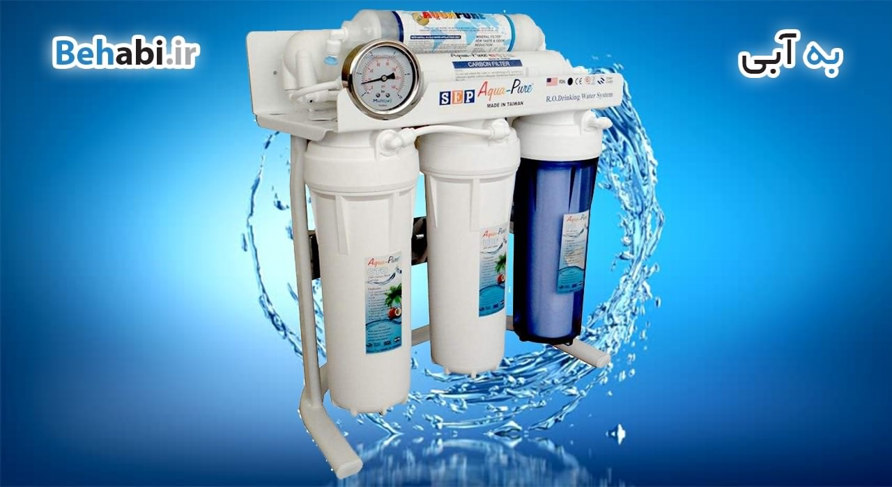 خرید دستگاه تصفیه آب 6 مرحله ای