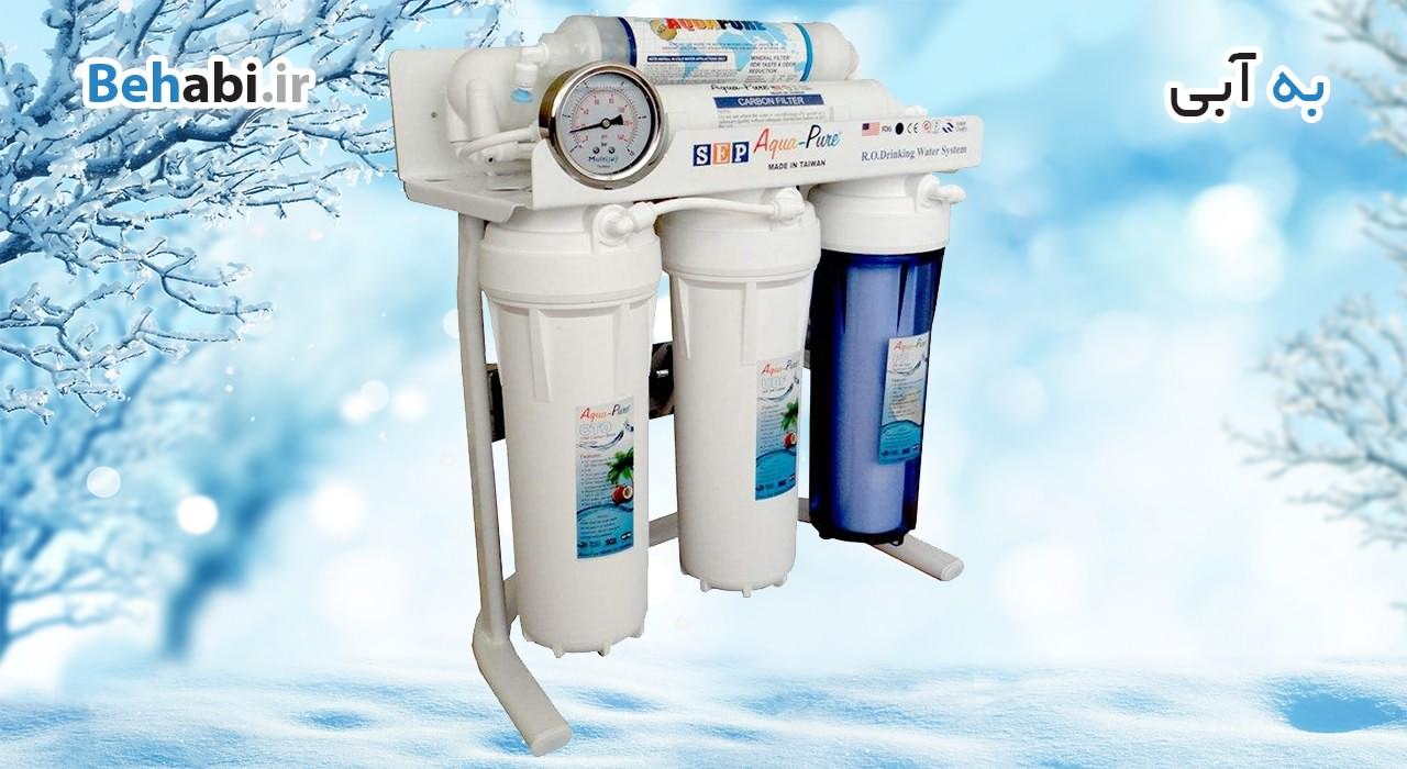 خرید دستگاه تصفیه آب آکواپیور شش مرحله ای