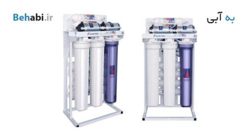دستگاه تصفیه آب نیمه صنعتی فلوکستک 400 گالن تایوان