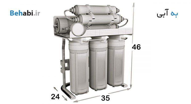 دستگاه تصفیه آب خانگی اس اس وی 7 مرحله ای مدل MaxTec X700