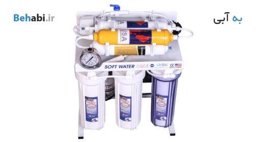 دستگاه تصفیه آب خانگی سافت واتر مدل RO7 ORP