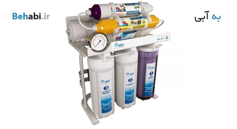 دستگاه تصفیه آب خانگی اس اس وی MaxTec X700