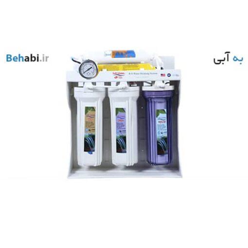 دستگاه تصفیه آب خانگی برند سافت واتر مدل RO 13