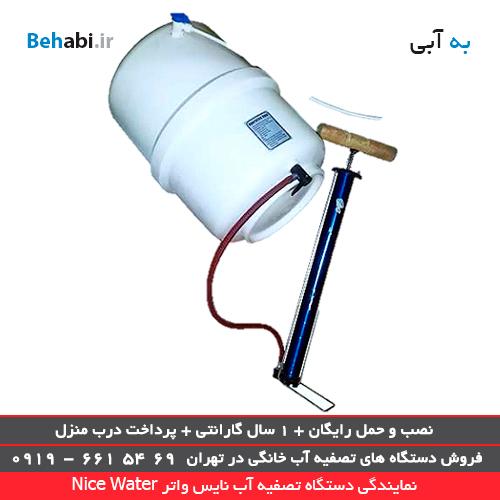 هواگیری دستگاه تصفیه آب خانگی در نمایندگی دستگاه تصفیه آب نایس واتر