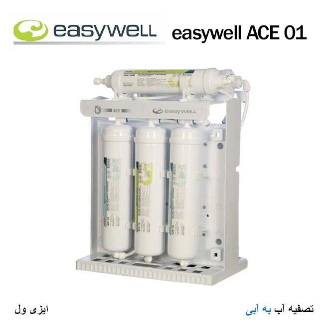 دستگاه تصفیه آب مارک ایزی ول مدل easy well ACE 01