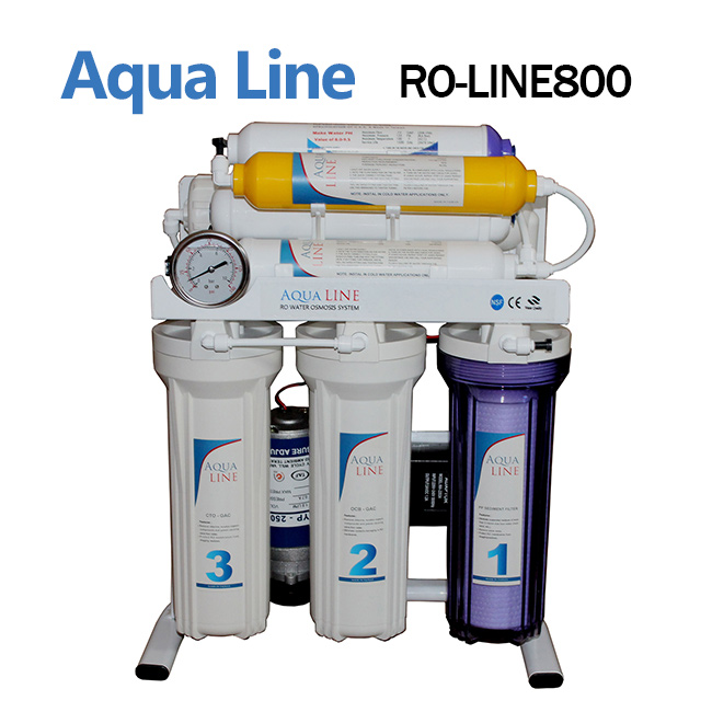 دستگاه تصفیه آب خانگی آکوا لاین مدل Aqua Line RO 800