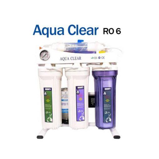 دستگاه تصفیه آب water purifier aqua- lear ro 6