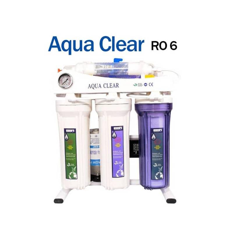 دستگاه تصفیه آب کننده آکوا کلیر مدل Aqua Clear RO 6