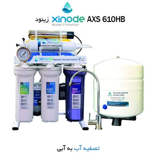 دستگاه تصفیه کننده آب زینود مدل AXS 610HB