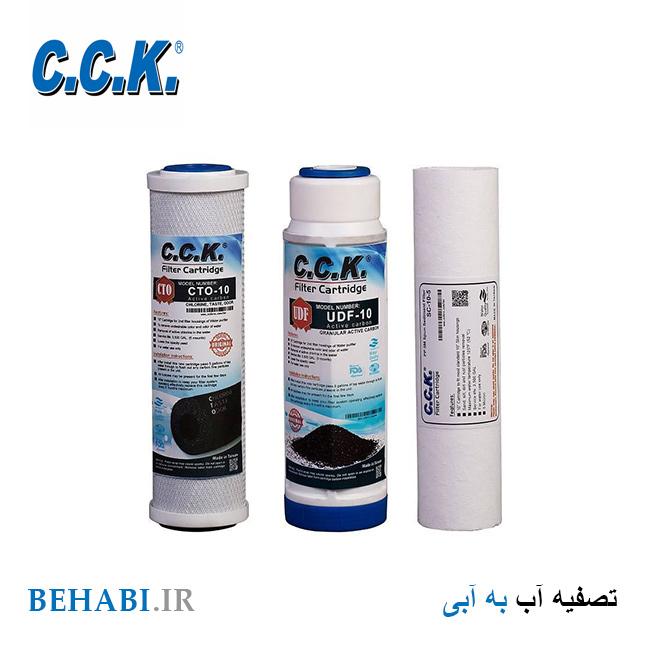 3 فیلتر تصفیه آب سی سی کا CCK
