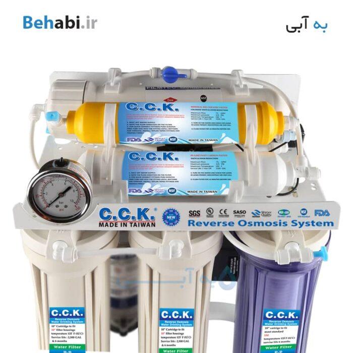 دستگاه تصفیه آب شش فیلتر سی سی کا CCK RO6